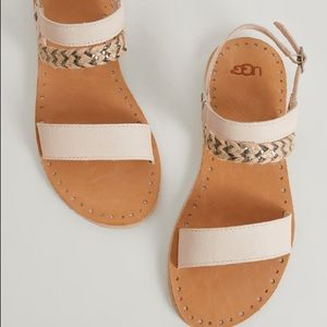UGG Elin Leather Sandal